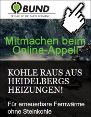 Online-Appell KOHLE RAUS AUS HEIDELBERGS HEIZUNGEN!
